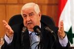 Ngoại trưởng Syria đi Nga hội đàm về tình hình hiện tại