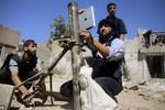 Phiến quân Syria dùng iPad định vị mục tiêu bắn súng cối vào phe Assad