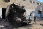 Quân đội Syria phá hủy xe chở vũ khí cho phiến quân từ Thổ Nhĩ Kỳ