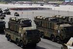 Ảnh: Hàn Quốc diễu binh biểu dương lực lượng, vũ khí chiến lược