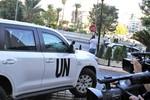 Phương Tây bác đề nghị của Syria mua thiết bị bảo vệ xe chở hóa chất