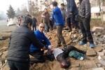 Ảnh: Nổ đường ống dẫn dầu kinh hoàng ở Trung Quốc, 35 người thiệt mạng