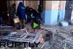 Video: Cảnh đẫm máu bên trong nhà ga Volgograd sau vụ nổ