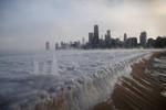 Một số khu vực ở Mỹ lạnh hơn cả sao Hỏa, bờ biển đóng băng