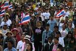 Người biểu tình Thái Lan nhắm mục tiêu bao vây các bộ chủ chốt