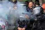 Đánh bom nhằm vào người biểu tình ở Bangkok, 28 người bị thương