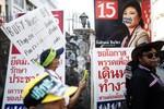 Thái Lan: Sẽ đóng cửa các điểm bỏ phiếu bùng nổ bạo lực
