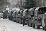 Ảnh: Quân đội Nga bao vây căn cứ bộ binh Ukraina tại Crimea