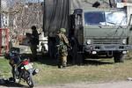 Xe tải chở vũ khí, thuốc nổ từ Ucraine vào Crimea bị bắt