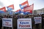Nga sẽ hỗ trợ cho Crimea hơn 1 tỷ USD nếu đồng ý sáp nhập