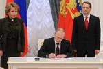 Putin ký luật sửa đổi, hoàn tất thủ tục pháp lý sáp nhập Crimea