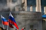 """Donetsk tuyên bố """"độc lập"""", kêu gọi Putin đưa quân sang giữ hòa bình"""