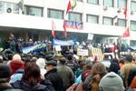 Nổ súng ở Donetsk, 12 người biểu tình đòi ly khai thương vong