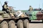 Ảnh: Quân đội Ukraine tấn công lực lượng ly khai Slaviansk