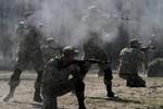 Vệ sĩ cựu Tổng thống Gruzia tuyển dụng lính đánh thuê hỗ trợ Ukraine