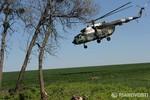 Hơn 10 tay súng lạ từ trực thăng tấn công trạm kiểm soát ở Donetsk