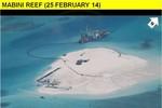 Philippines công bố ảnh xây dựng trái phép của Trung Quốc ở Gạc Ma