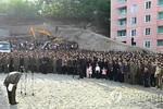 Triều Tiên sập chung cư 23 tầng, quan chức xin lỗi dân