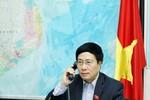 Ngoại trưởng 2 nước Việt Nam - Mỹ điện đàm về tình hình Biển Đông