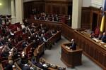 Quốc hội Ukraine kêu gọi rút quân ngay lập tức khỏi miền Đông