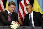 Obama khen ngợi tân Tổng thống Ukraine ngay lần đầu gặp mặt