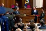Tổng thống Ukraine tuyên thệ nhậm chức, cam kết loại trừ tham nhũng
