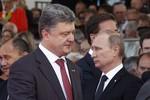 """Putin ca ngợi """"suy nghĩ tích cực"""" của Poroshenko về vấn đề Ukriane"""