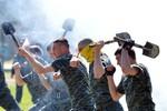 Vệ binh Quốc gia Ukraine bất ngờ chống lệnh, về Kiev biểu tình