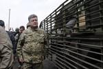Poroshenko ra lệnh 7 ngày ngừng bắn, cảnh báo lực lượng ly khai