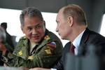 Tổng thống Nga Putin bất ngờ ra lệnh tập trận