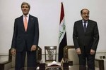 Ngoại trưởng Mỹ thăm Iraq trấn an đồng minh