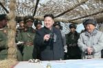 Kim Jong-un giám sát tập trận chiếm đảo, cảnh báo Hàn Quốc