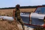 Lực lượng ly khai bắn hạ máy bay không người lái của quân đội Ukraine