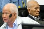 Hai cựu trùm Khmer Đỏ bị kết án chung thân