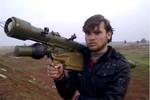 Phiến quân Syria sở hữu hàng trăm hệ thống tên lửa Nga, Trung Quốc