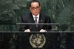 """Ngoại trưởng Triều Tiên chỉ trích Liên Hợp Quốc là diễn đàn """"lừa dối"""""""