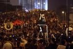Chính quyền kiên quyết, sinh viên biểu tình Hồng Kông bắt đầu mệt mỏi
