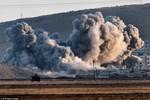 Ảnh: Giao tranh ác liệt tại Kobani
