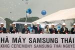 Samsung mở thêm nhà máy khoảng 3 tỉ USD tại Việt Nam