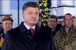 Poroshenko gửi thông điệp năm mới, nhấn mạnh giấc mơ gia nhập EU