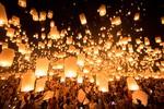 Tìm thấy đèn trời trong động cơ máy bay Bangkok Airways