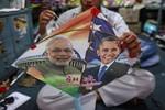 Obama thăm Ấn Độ bàn về hợp tác chiến lược lâu dài