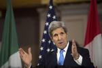 Kerry thăm Ukraine bàn việc chuyển giao 3 tỷ USD vũ khí sát thương