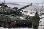 Ukraine cáo buộc hàng chục xe tăng, bọc thép Nga xâm nhập trong đêm