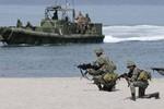 Philippines tổ chức tập trận chung với Mỹ và Nhật Bản gần Trường Sa