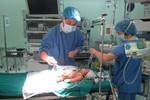 Phẫu thuật cắt 95% tụy bé sơ sinh bằng kỹ thuật nội soi tiên tiến