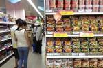Khốc liệt cuộc chiến mì gói trên thị trường Việt