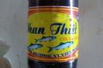 Nhan nhản nước mắm Phan Thiết giá... 5.000 đồng/lít ở chợ Hà Nội