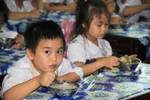 Cải thiện tầm vóc Việt với bữa ăn học đường