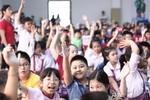 """Hơn 2.000 HS tham gia """"Vô địch TOEFL Primary 2014"""" tại Vinschool"""